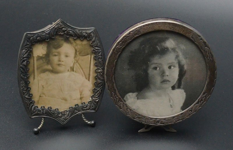 Lot of Vintage & Antique Picture Frame Lot - 2