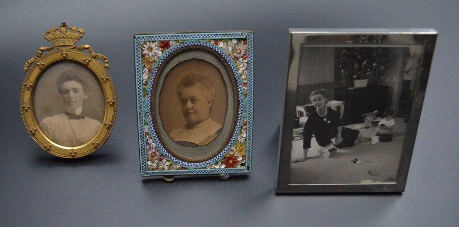 Lot of Vintage & Antique Picture Frame Lot - 4