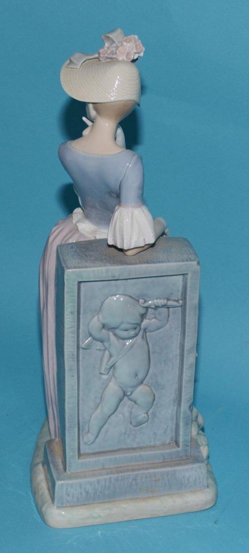 """Large Lladro Porcelain Woman w Parasol 4850, """"Esthetic - 3"""