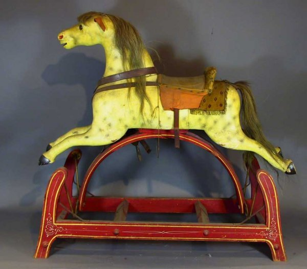 215 American Circa 1920 S Glider Rocking Hobby Horse