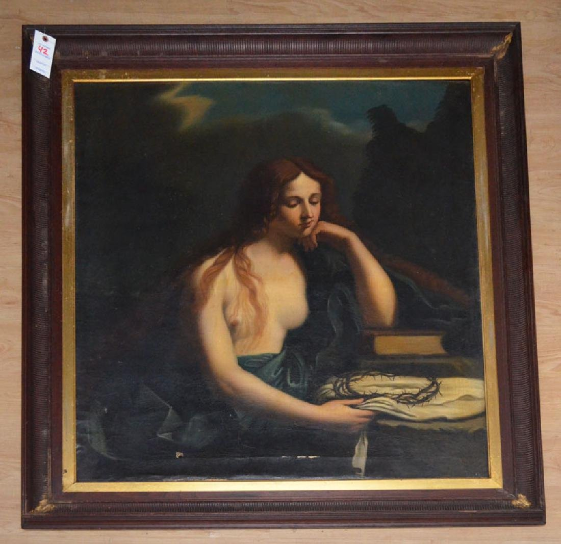 Mary Magdalene Painting after Cesare Gennari