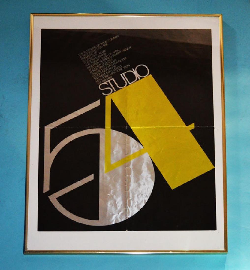 Original 1977  Studio 54 Premiere Invitation