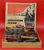 American Flyer Train Set By Gilbert