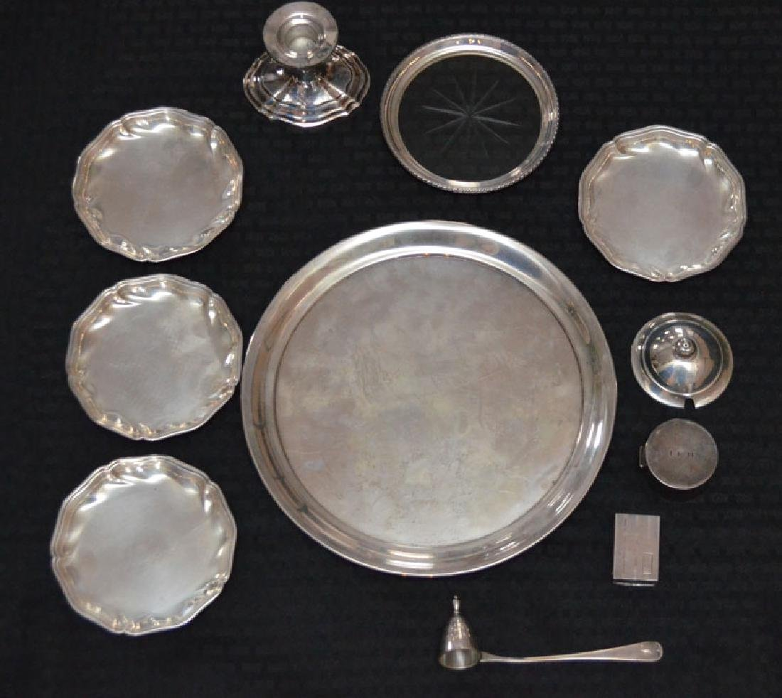 Vintage Lot Of  Sterling Silver Entertaining