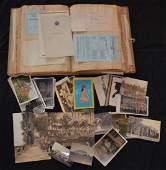 Large Scrapbook Postcards & Ephemera
