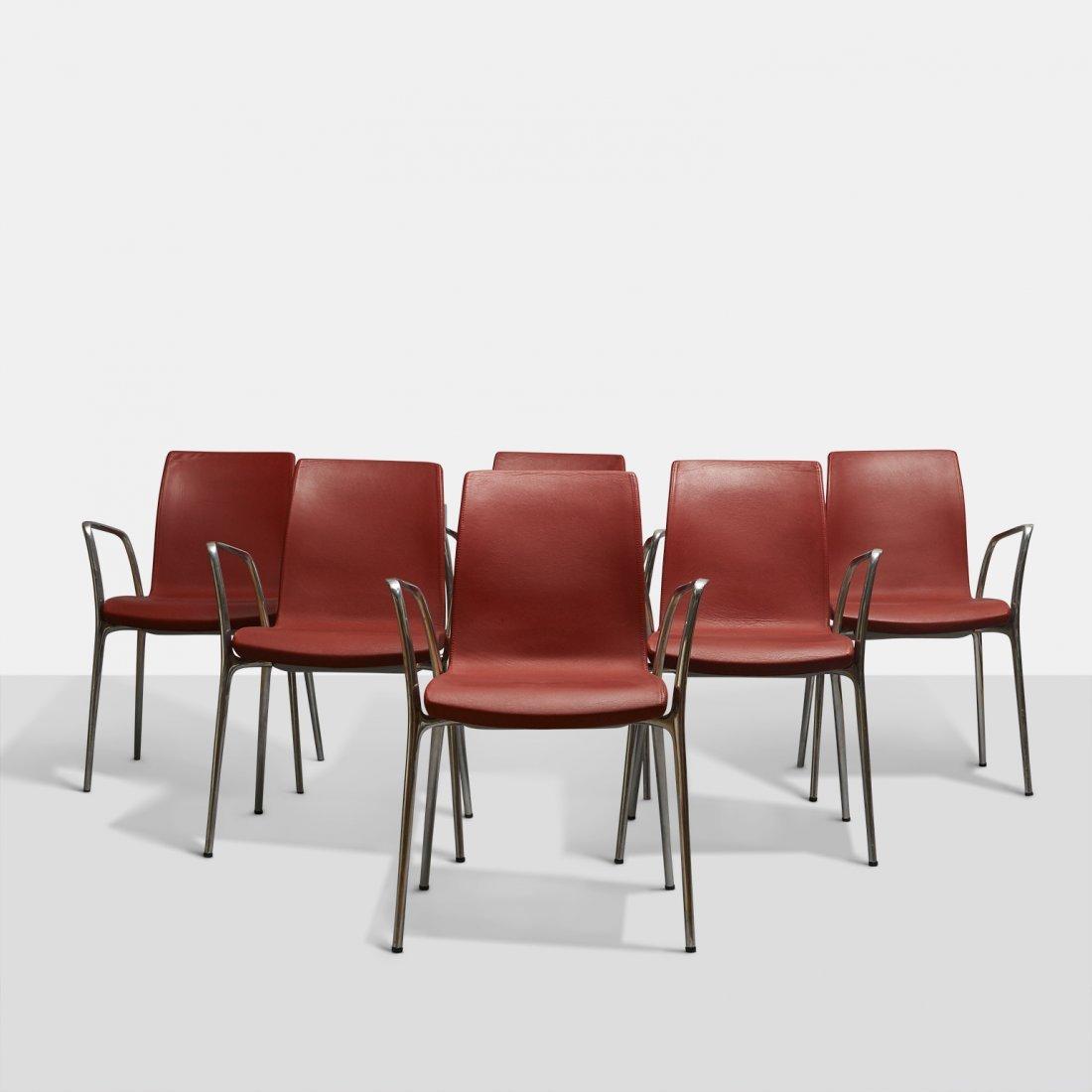 Jorge Pensi, Set of Six Gorka Chairs