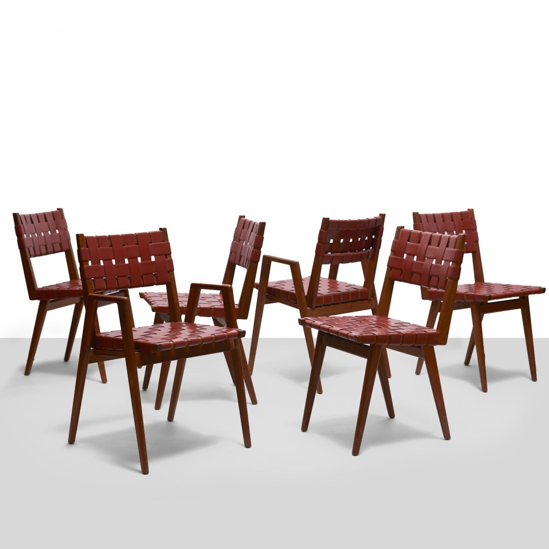 Jens Risom Attributed Dining Chairs