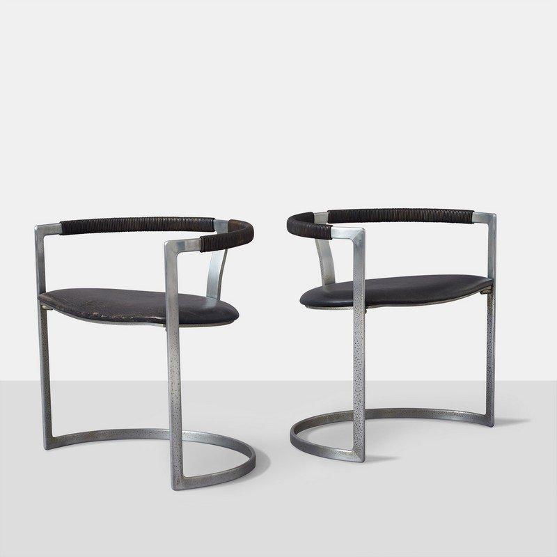 Preben Fabricius and Jorgen Kastholm, Sculpture Chairs