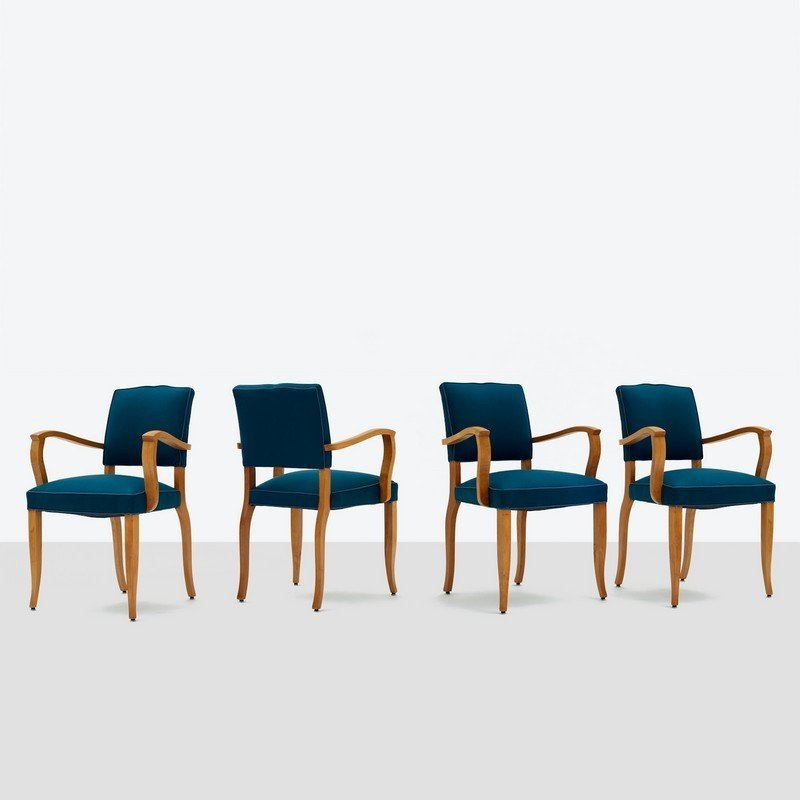 Maxime Old, Set of Four Dining Chairs