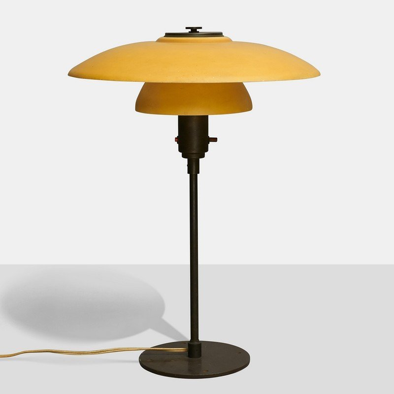 Poul Henningsen Style Table Lamp by Lyfa