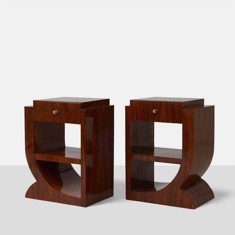 Unknown Designer, Art Deco End Tables