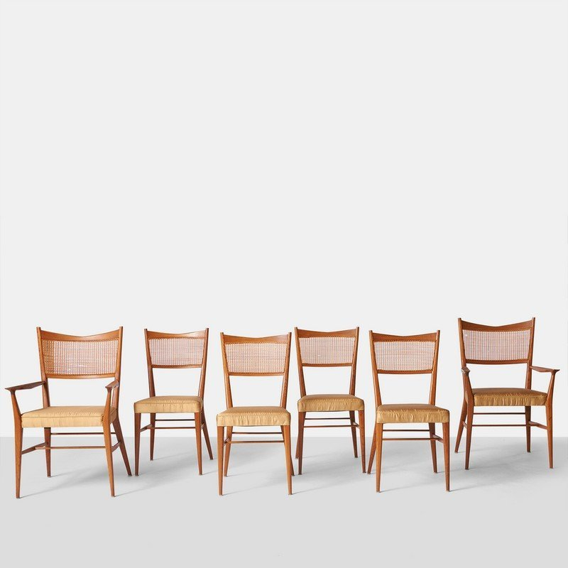 Paul McCobb, Set of Six Dining Chairs for Directional