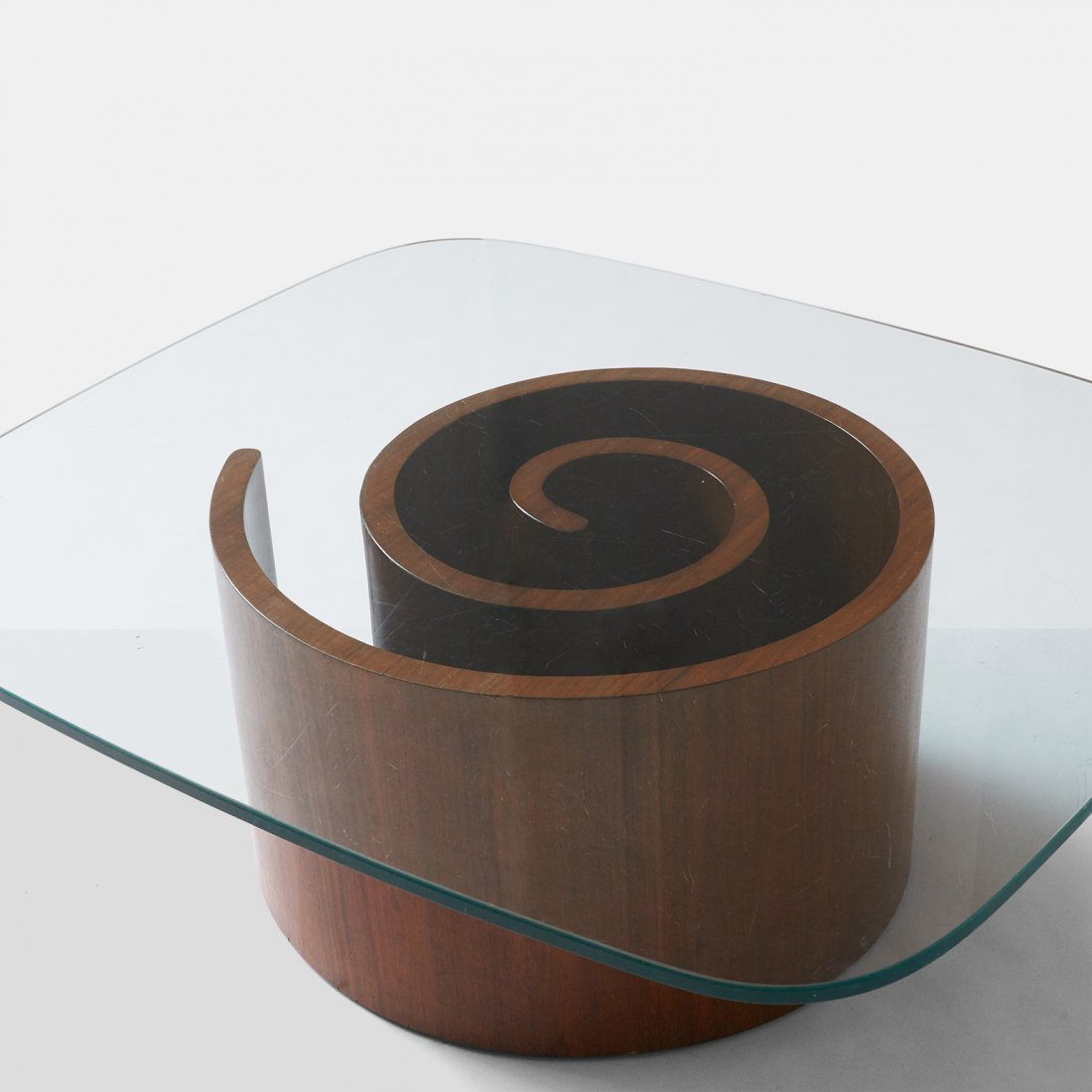 "Vladimir Kagan, ""Snail"" Coffee Table - 3"