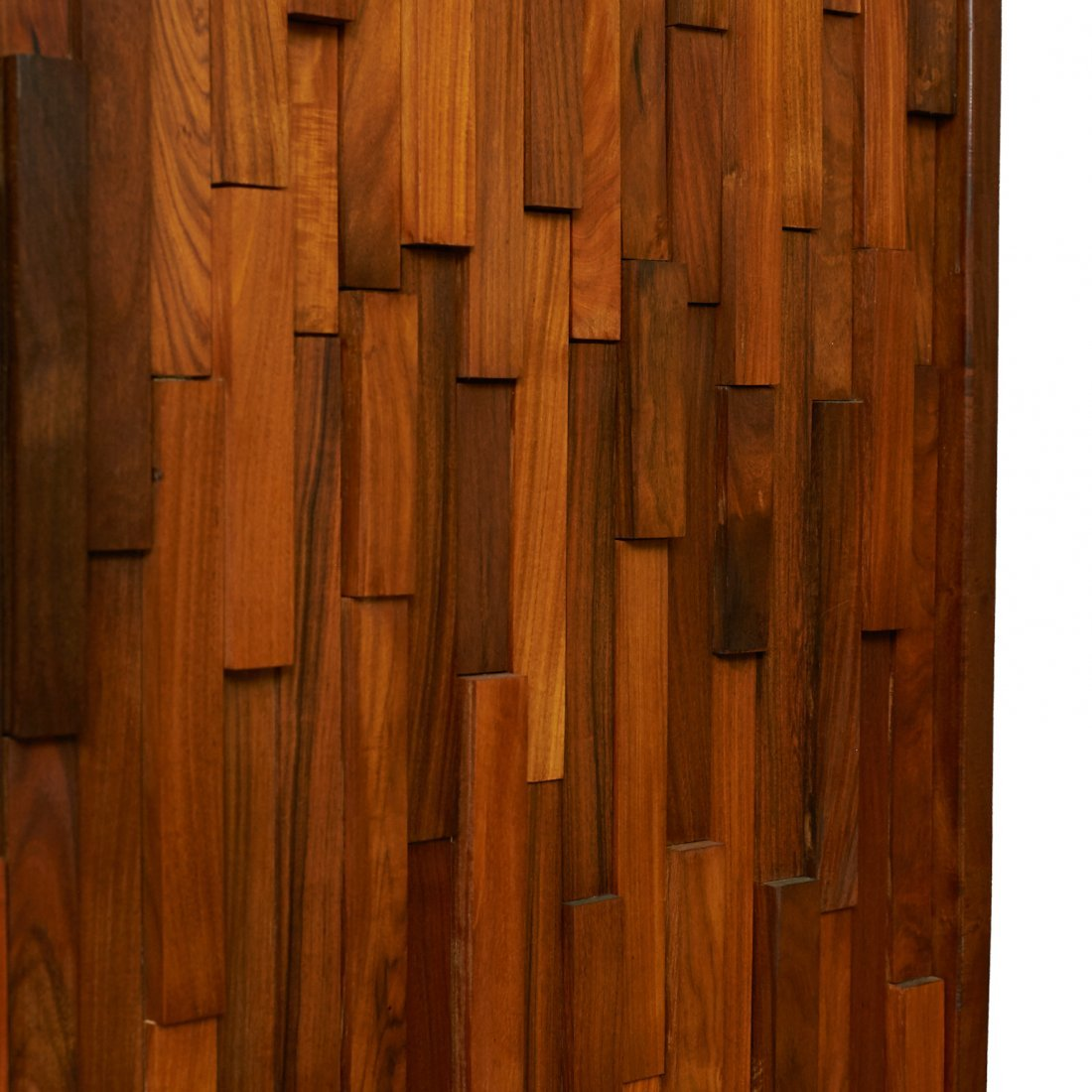 Percival Lafer Style Brazilian Rosewood 3-Panel Screens - 5