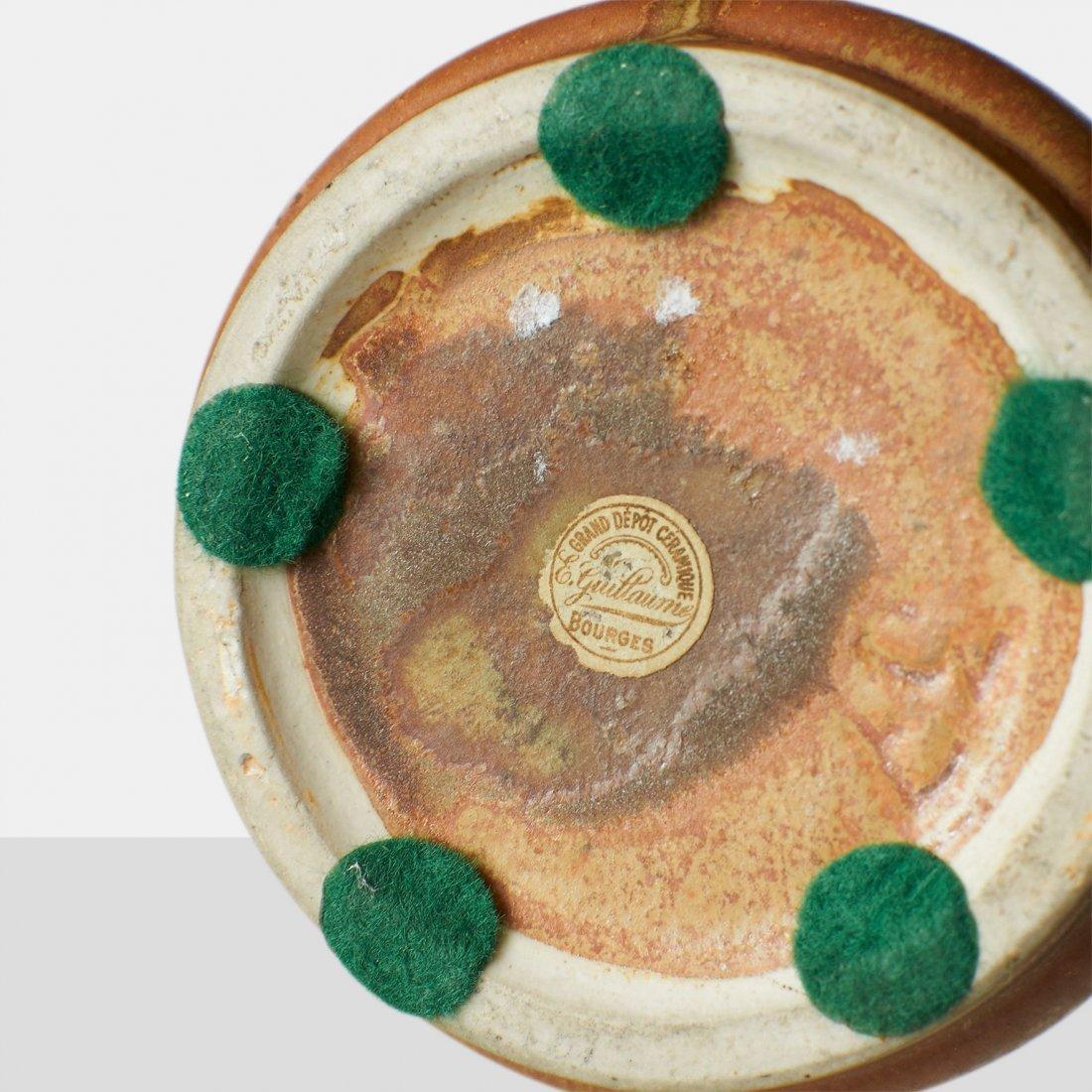 Guillaume Ceramics, Pair of Earthenware Vases - 5