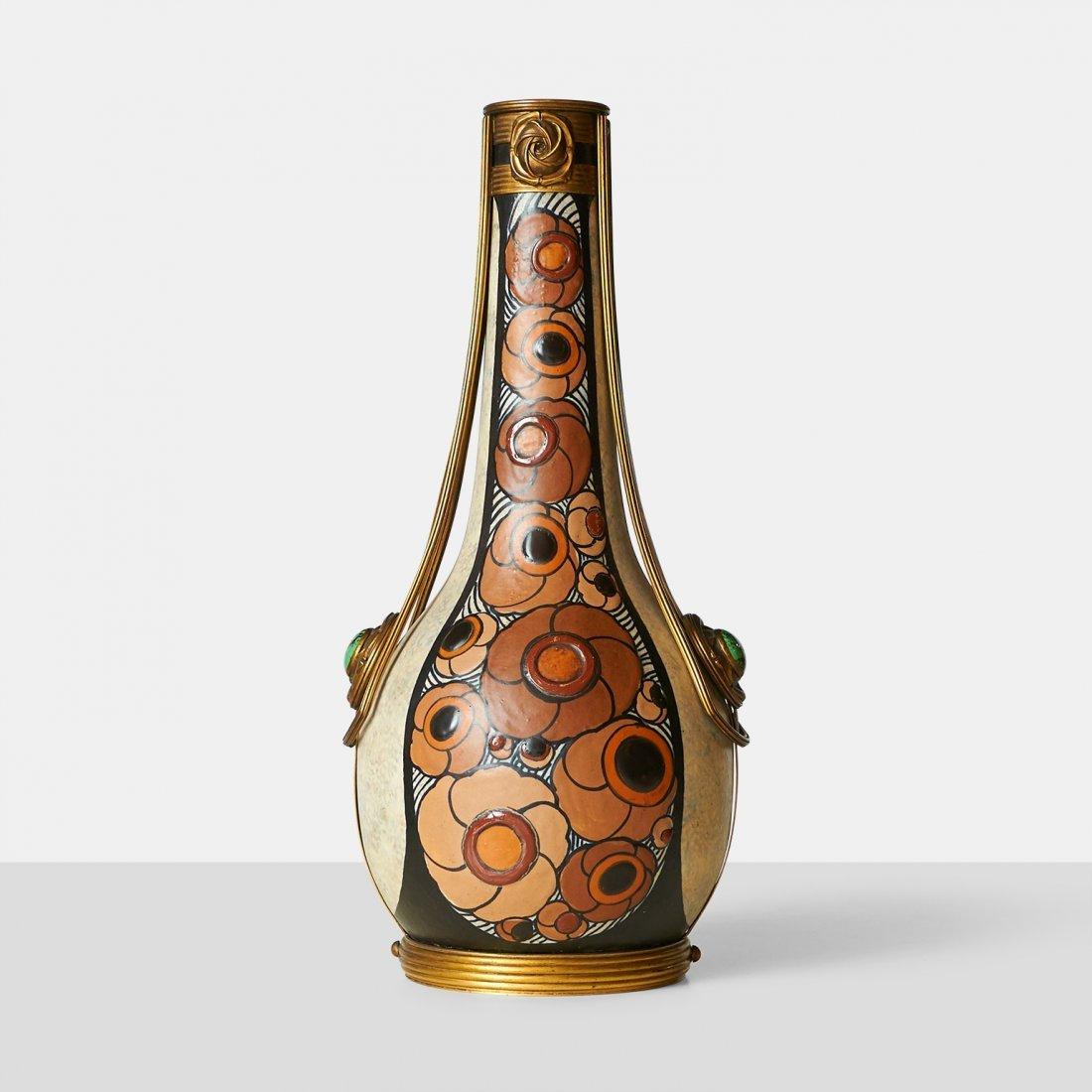 Luis Auguste Dage, Stoneware Vase