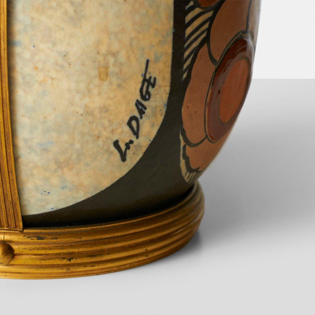 Luis Auguste Dage, Stoneware Vase - 5