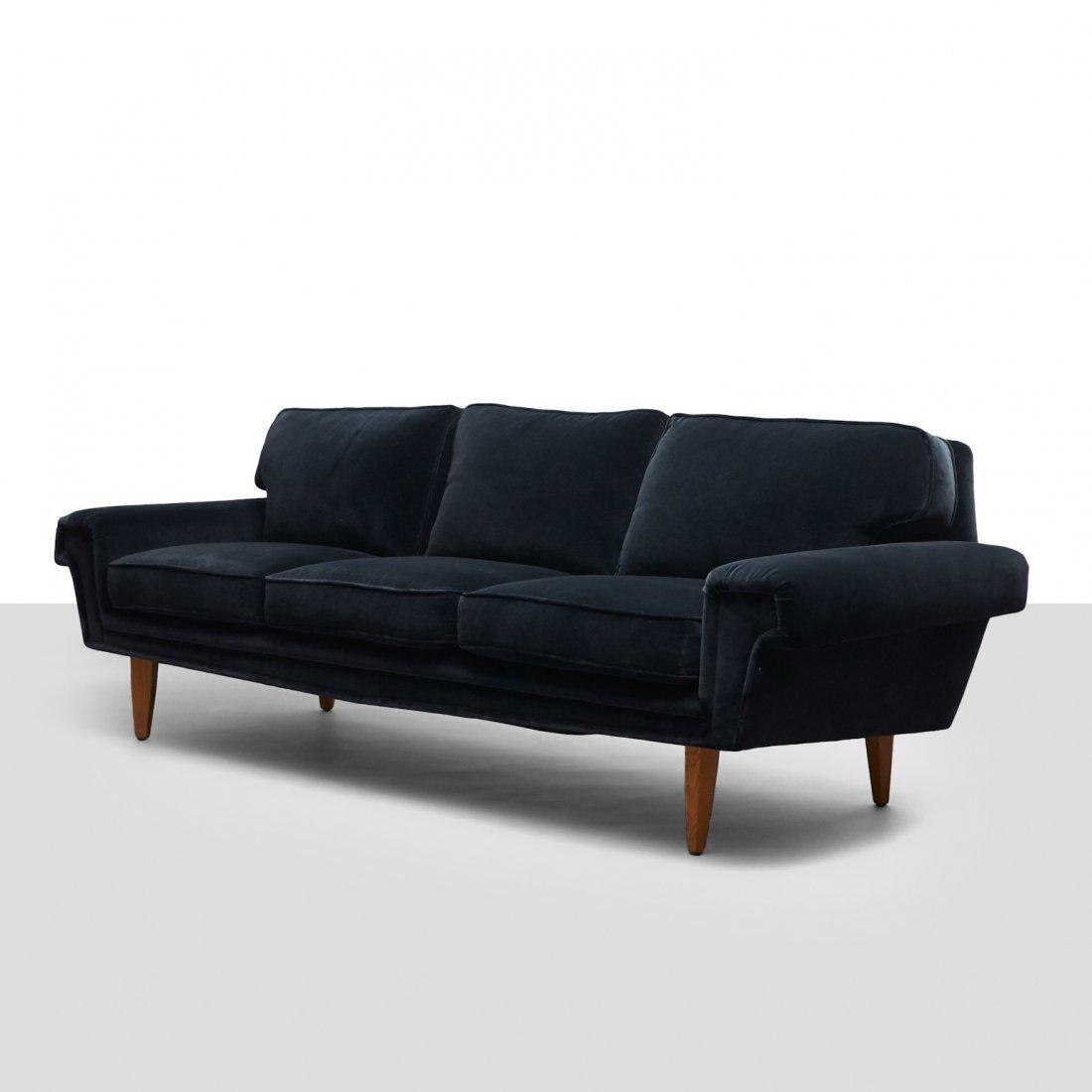 Swedish Design, Three-Seat Sofa
