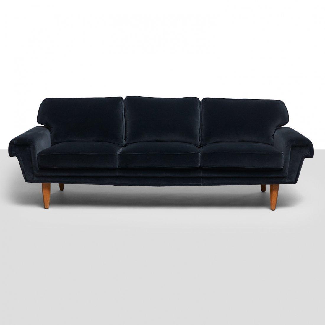 Swedish Design, Three-Seat Sofa - 2