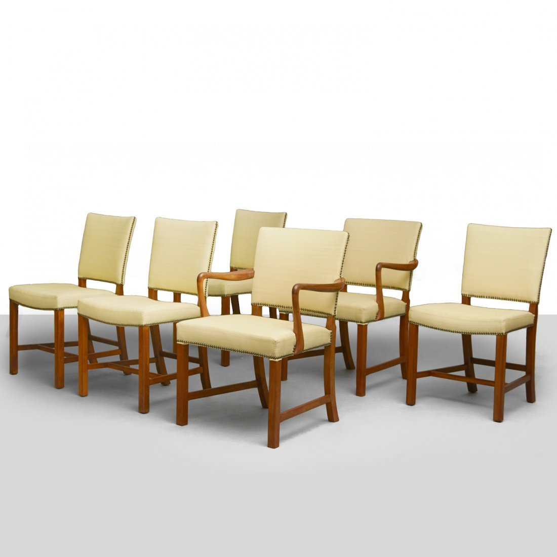 Ole Wanscher, Set of Six Dining Chairs