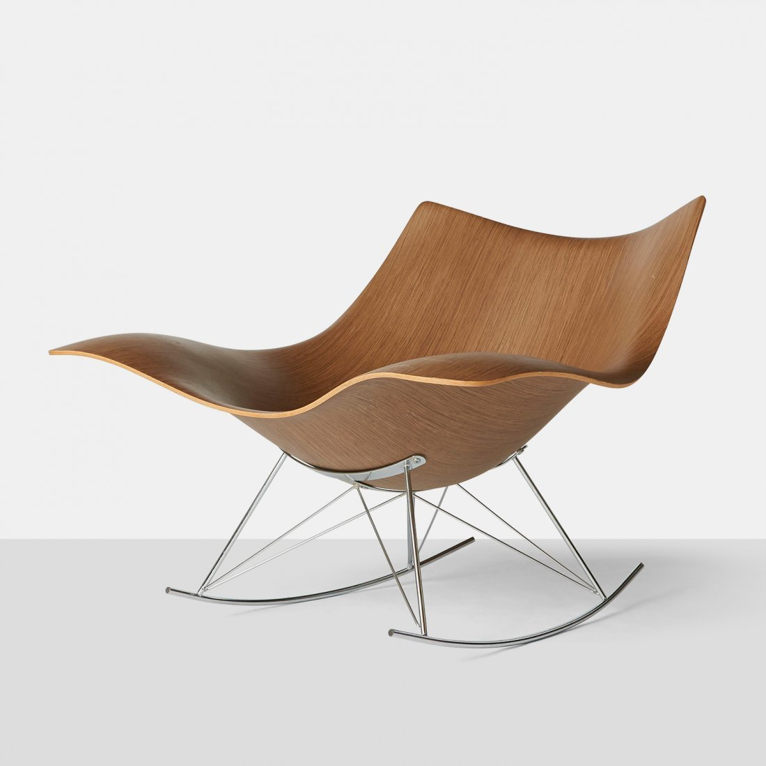 "Thomas Pedersen, ""Stingray"" Rocking Chair"