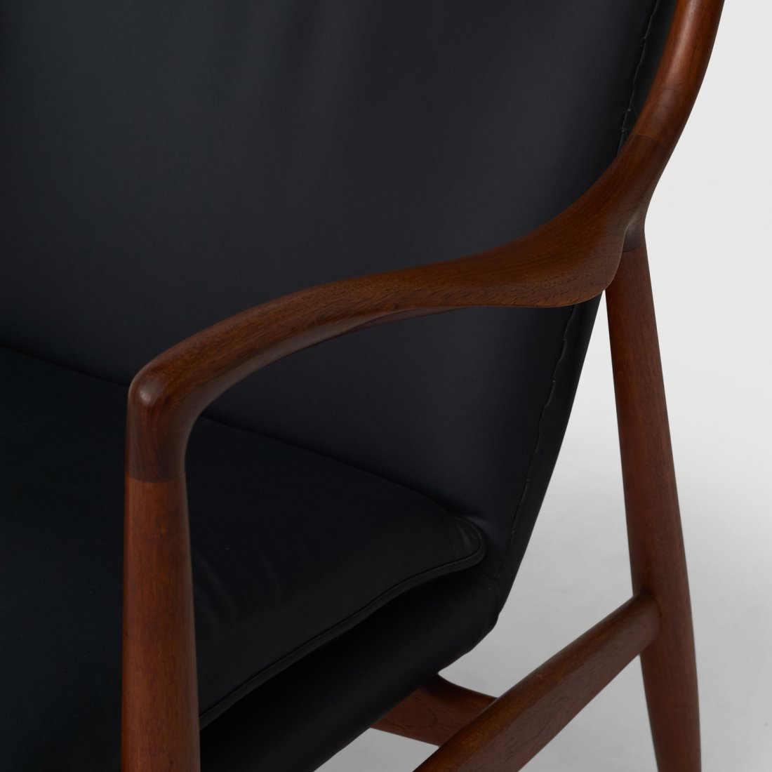 Finn Juhl, Pair of NV45 Chairs for Niels Vodder - 5