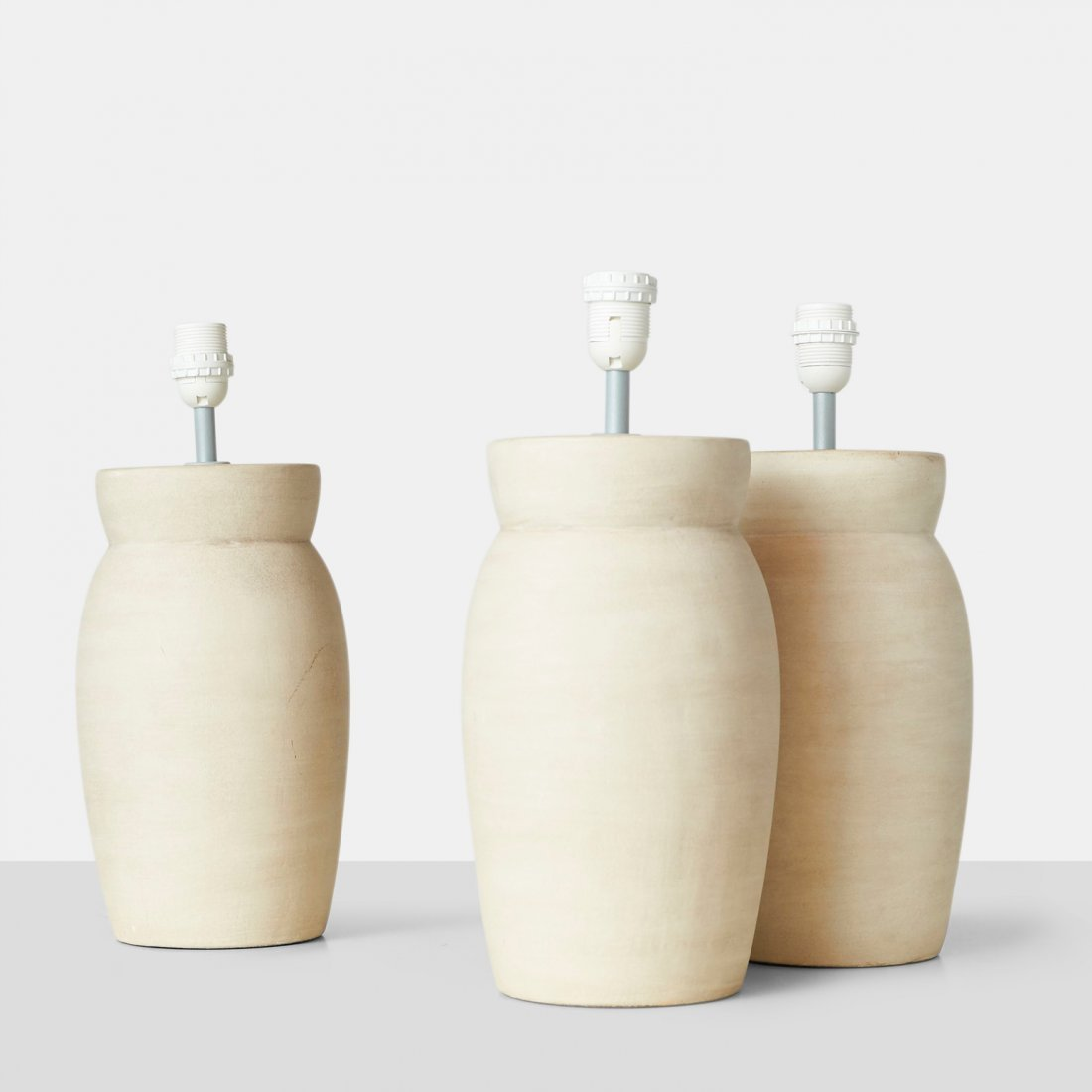 Set of 3 Ceramic Table Lamps by Frandsen