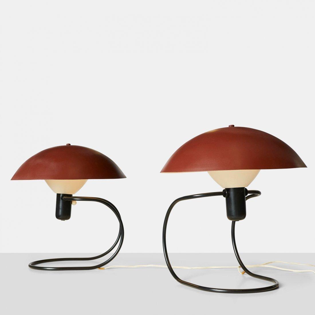 Greta Von Nessen, Pair of 'Anywhere' Lamps