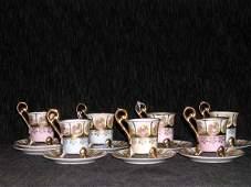 56 Carl Knoll Fischern Porcelain Coffee Service