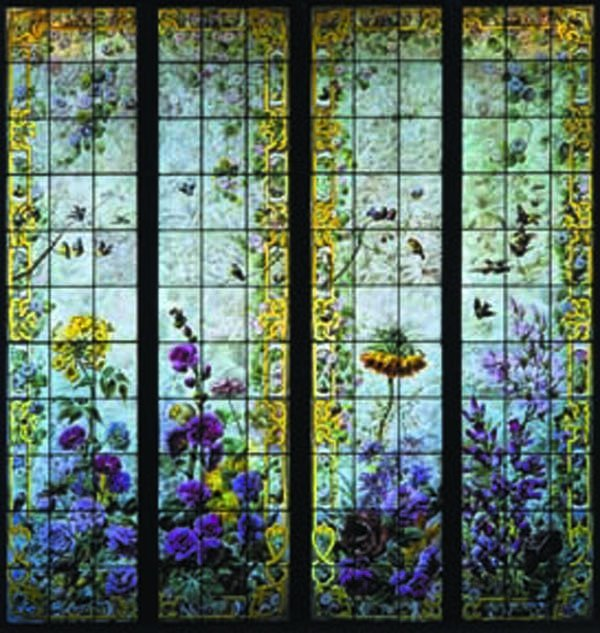 818: Aesthetic Movement Stained Glass Windows