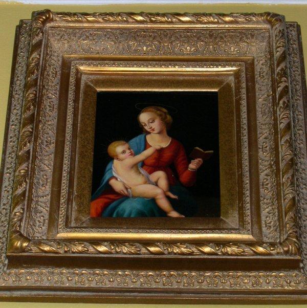 "787: After Perugino ""Madonna and Child"""