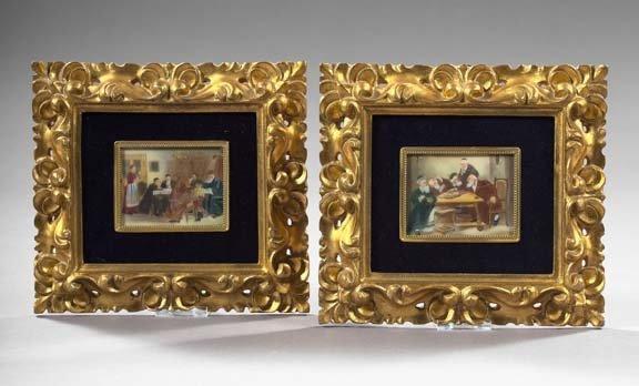 792: Rare Pair of Judaic Miniatures,