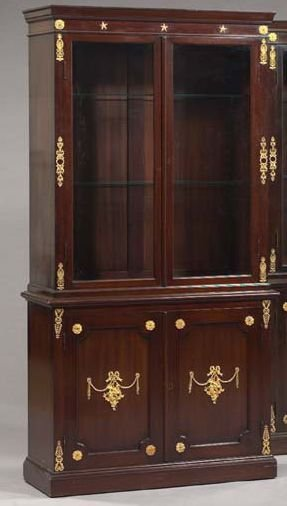 15: Mahogany and Gilt-Brass-Mounted Cabinet