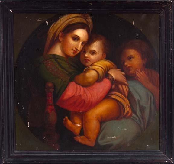 851: After Raphael Sanzio of Urbin (Italian, 1483-1520)