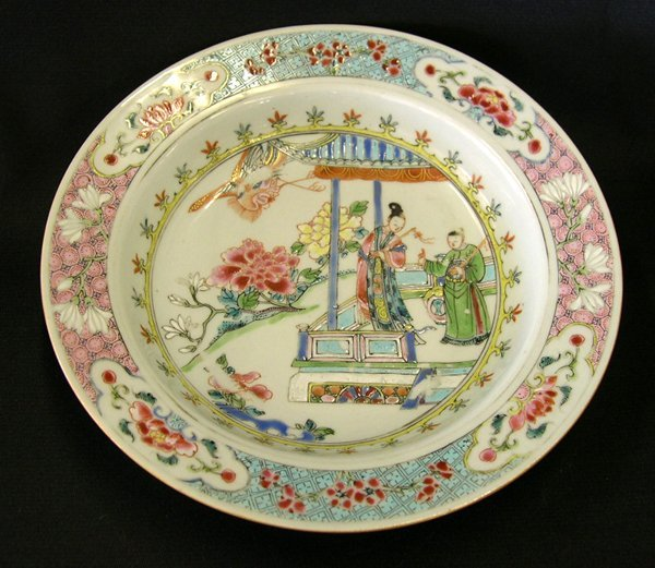 17: Good Chinese Export Porcelain Plate