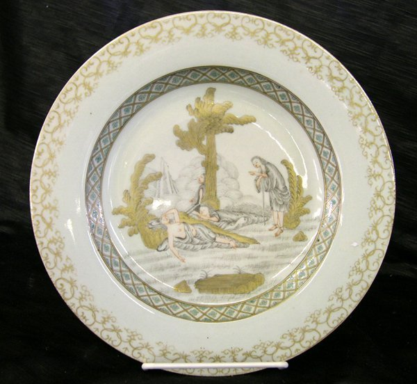 18: Good Chinese Export Porcelain Plate