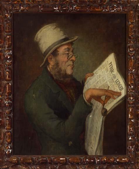 1094: American School (19th Century) Portrait