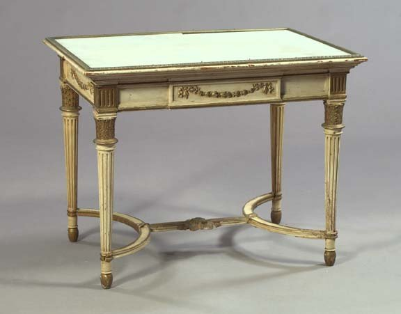 8: Louis XVI-Style Center Table