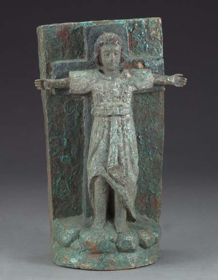 816: Spanish Colonial Carved Wooden Figure