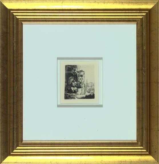 758: After Rembrandt Van Rijn (Dutch, 1606-1669)