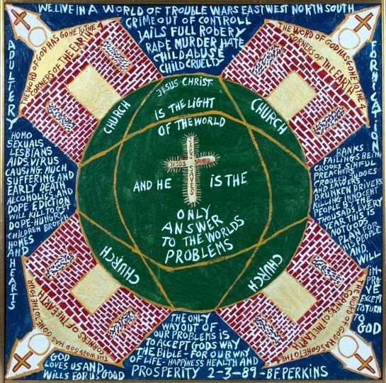 1323: Rev. B.F. Perkins (American/Alabama, 1904-1993)