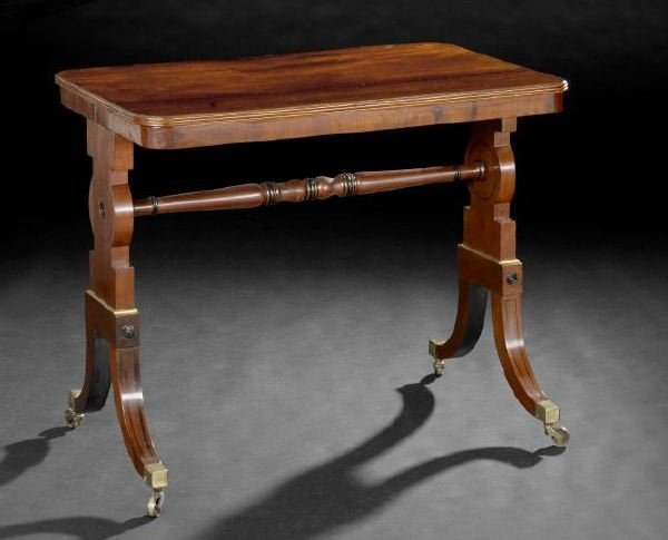 20: Regency-Style Mahogany Table