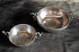 351 Two Sterling Silver Bowls