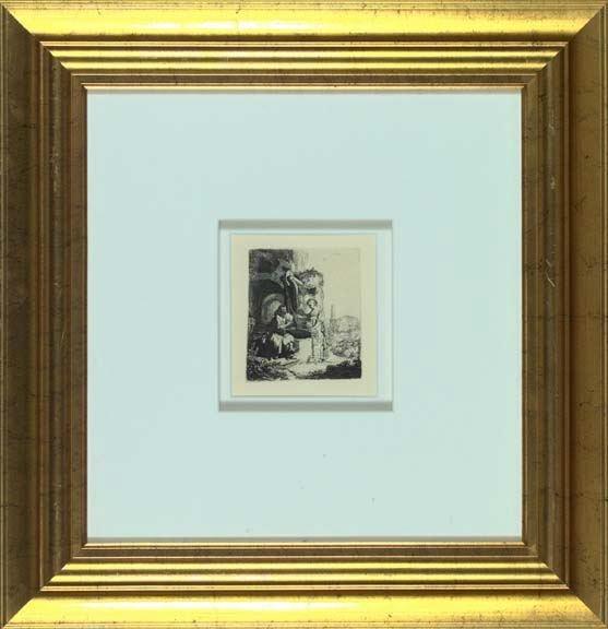 704: After Rembrandt Van Rijn (Dutch, 1606-1669)