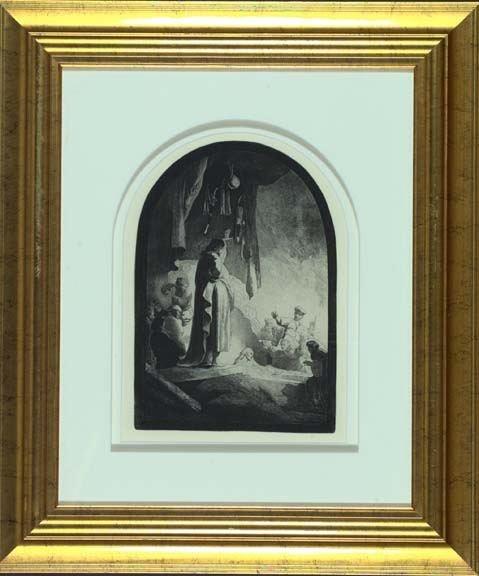 705: After Rembrandt Van Rijn (Dutch, 1606-1669)