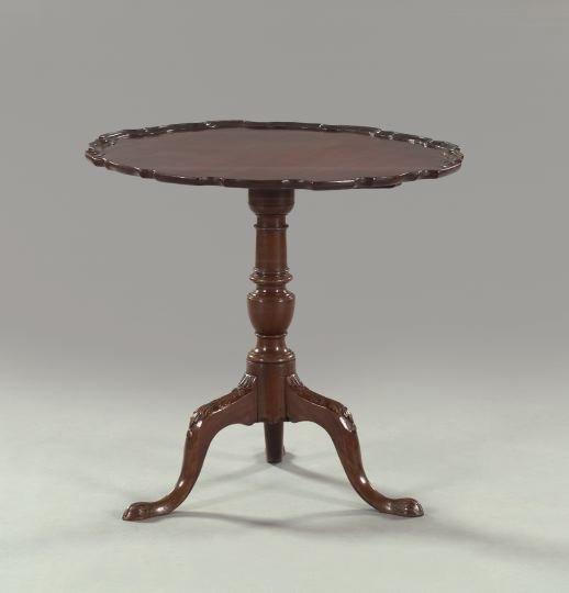 3: George III-Style Mahogany Tripod Table