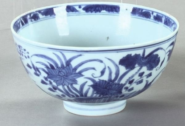 22: Good Ch'ien Lung Blue-and-White Porcelain Bowl