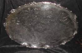 162 Good Christofle Paris Silverplate Oval Tray