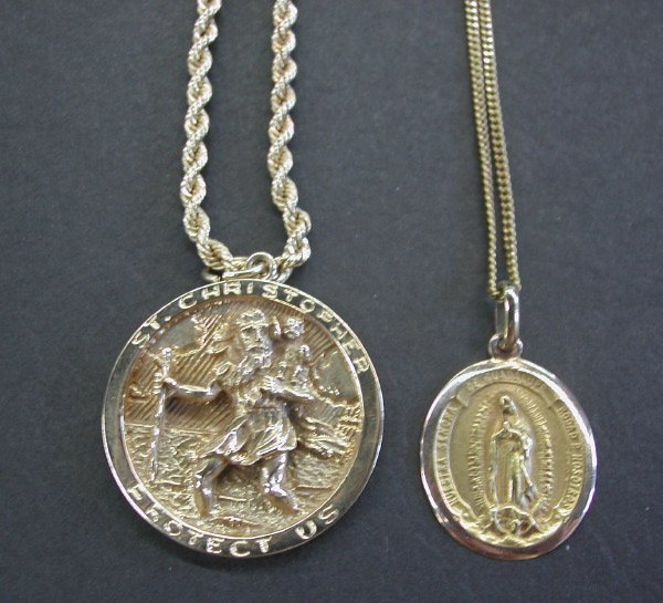 789: Two Religious Medals,