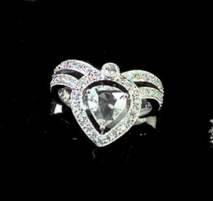 792: White Gold and Diamond Lady's Ring